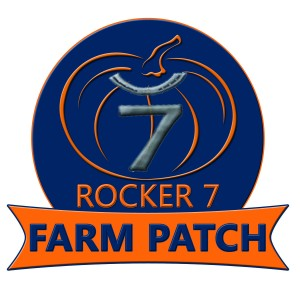 Rocker 7 Farm Patch logo
